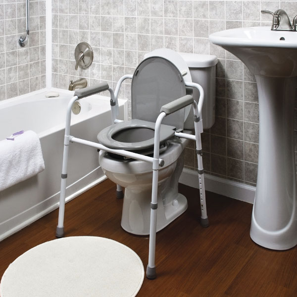 3 IN 1 Steel Folding Commode | North Coast Medical